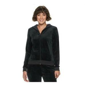 💕 EUC Juicy Couture velour full zip hoodie